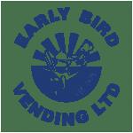 Early bird vending logo blue